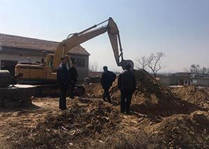 平邑五块石幼儿园开始动工 结束建村来没有学校的历史