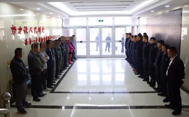 平邑法院夜间执行,亮剑老赖!拘留18人!