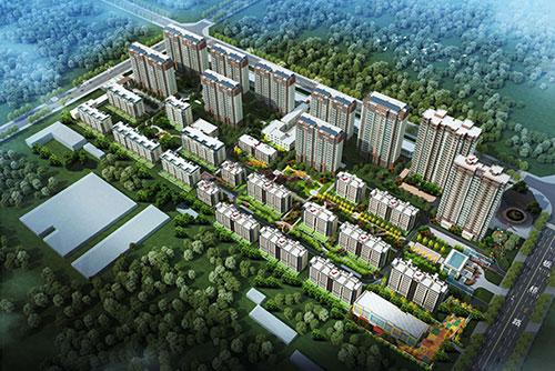 临沂金海源置业有限公司金海源康城花园建设工程规划许可证批前公示